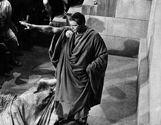 """Marlon Brando, en """"Julio César"""" (Julius Caesar), 1953"""