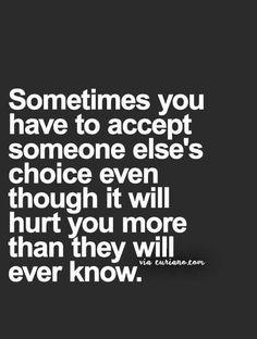 Easier said than done I'm afraid