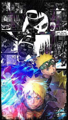 The road of the hero (credits in the image) Boruto, Naruto Shuppuden, Naruto Shippuden Sasuke, Naruhina, Wallpaper Animes, Animes Wallpapers, Wallpaper Naruto Shippuden, Naruto Wallpaper, Anime Demon