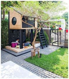 48 small backyard landscaping ideas 33 Informations About 48 kleine Gartengestaltungsideen 33 - Kind Backyard Patio Designs, Small Backyard Landscaping, Backyard For Kids, Pergola Patio, Outdoor Pavers, Patio Ideas, Small Patio, Cool Backyard Ideas, Outdoor Fun