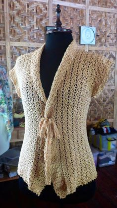 FATIMA CROCHET: A Simple Crochet Cardigan