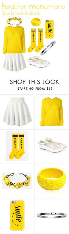 """""""Heather McNamara (Heathers The Musical)"""" by kittiesfordays ❤ liked on Polyvore featuring cutekawaii, Roseanna, Gumball Poodle, Monsoon, Mariah Rovery, Casetify, Itsy Bitsy and theheathers"""