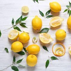 Zitrone im Bett