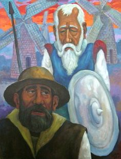 Quijote by Luis Cajiga