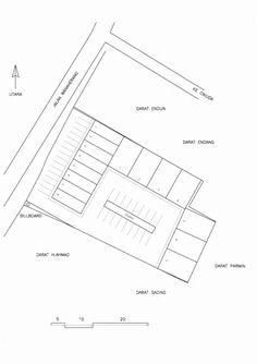 Awalnya pengembang ingin membangun kompleks ruko di lokasi ini, tetapi melihat wilayahnya yang belum cukup ramai, maka hanya ruko-ruko yang ... Autocad, Chart, How To Plan