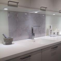 Galleri – Glamitec AS – Digitaltrykk på glass Sink, Glass, House, Kitchen Ideas, Home Decor, Spaces, Marble, Sink Tops, Vessel Sink
