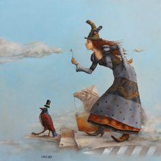 Catherine Chauloux -  La faiseuse de nuages
