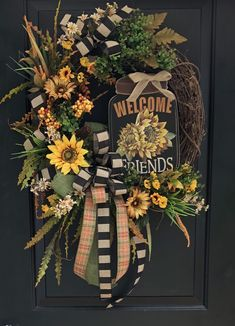 Custom And Unique Door Wreaths Diy Fall Wreath, Summer Wreath, Holiday Wreaths, Thanksgiving Wreaths, Easter Wreaths, Wreaths For Front Door, Fall Door Wreaths, Autumn Wreaths, Lemon Wreath