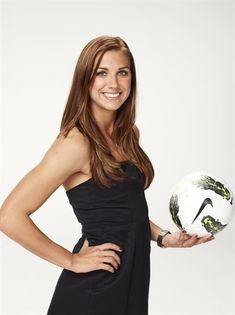 U.S. women's soccer star Alex Morgan