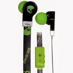 Let Me Talk about Anything/Everything: Haunted Headphones Giveaway 1 - Winner will receive a Pair of iHip DJZ Earphones with built in microphone and in line volume control