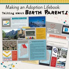Making an Adoption Life Book - Talking About Birth Parents