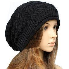 New Fashion Women Lady Girls Triangle Diamond Warm Knitted Wool Hats Knit  Fashion 8ac3a85a50a8