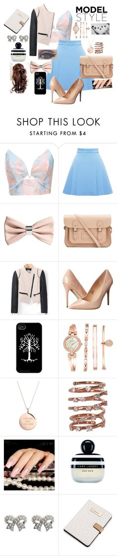 """""""Going to a meeting"""" by ameliefashionista ❤ liked on Polyvore featuring Zimmermann, FAUSTO PUGLISI, H&M, The Cambridge Satchel Company, Madden Girl, Anne Klein, Kate Spade, Plukka, Marc Jacobs and M&Co"""