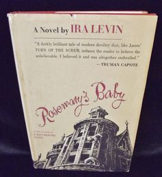 Check out Ira #Levin Rosemary's #Baby Vintage Hardcover 1967 #Book Club Edition