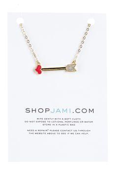 Jami   Red Lulu Necklace   HauteLook