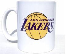 Los Angeles Lakers Coffee Mug - Basketball- Sports fan gifts - Sports mom - Sports dad - Personalized mugs - la lakers