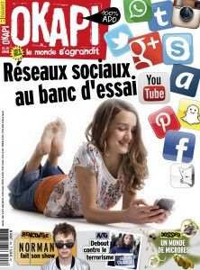 Les ados et les réseaux sociaux.