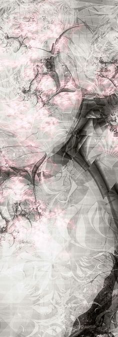 Modern art in pink & Grey ✿⊱╮ Pink Love, Pink Grey, Pink Color, Pretty In Pink, Pale Pink, Gray Aesthetic, Flower Aesthetic, Gris Rose, Modern Art Paintings