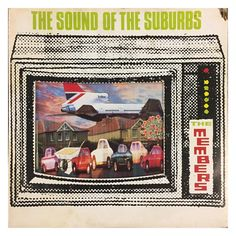 """The Members, 'The Sound Of The Suburbs'. Virgin clear vinyl 7"""", 1979. #themembers #thesoundofthesuburbs #punk #45 #vinyl #recordstore…"""
