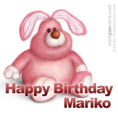 Happy Birthday, Mariko!