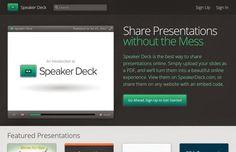 AYUDA PARA MAESTROS: Speaker Deck -Convierte tus  PDF en una atractiva ...