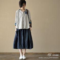 Blue Midi Skirt, Normcore, Street, Skirts, Blue, Fashion, Moda, Midi Skirts, Skirt