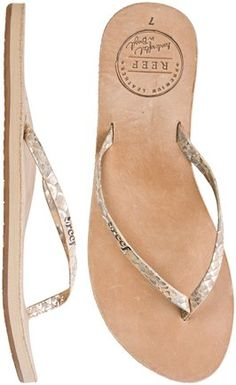 REEF LEATHER UPTOWN LUXE SANDAL   Swell.com