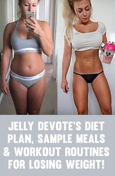 Jelly Devote Diet Plan, Sample Meals & Workout Routines For Getting In Shape!