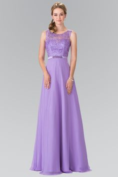 Sleeveless Embroidered Dress with Beaded Waist by Elizabeth K GL2364