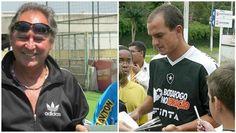 BotafogoDePrimeira: Ex-jogadores Mendonça e Sandro participam dos 9 an...