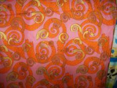 Buddha Party Cotton  Fabric, 36 X 44,Pink,Gold,Beautiful,1 Yard by susiesfabrics on Etsy