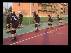 Roller Derby Minimum Skills - Stepping Drills