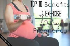 10 things that will inspire you to exercise during pregnancy