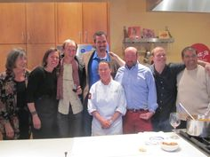 The James Beard Chefs Celebrity Tour came to Santa Fe...and we were honored to have them visit the School.