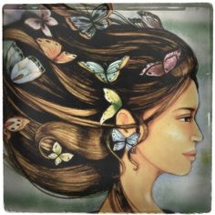 Butterfly Miss by Claudia Tremblay   Society6