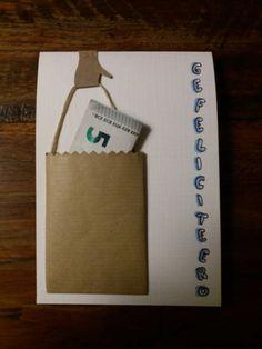 Handmade Birthday Cards, Diy Birthday, Diy Gifts, Best Gifts, Creative Money Gifts, Folding Money, Gift Envelope, Handmade Books, Graduation Gifts