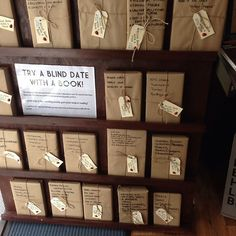 Try a blind date with a book!