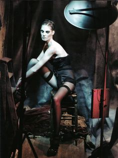 IN A POETIC MOD -  Photographer: Paolo Roversi  Magazine: Vogue Italy