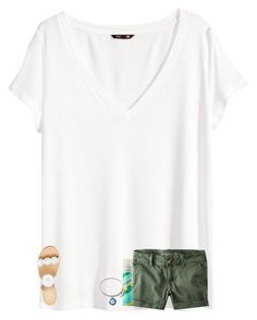 """""""do any of y'all have hashtag ideas for the summer or just in general?❓"""" by texasgirlfashion ❤ liked on Polyvore featuring H&M, American Eagle Outfitters, Jack Rogers, Batiste and Alex and Ani"""