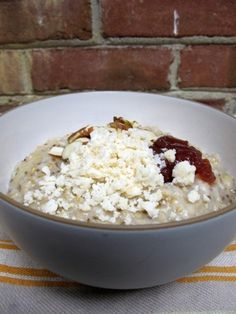 Rice cooker oatmeal - This is the most convenient and filling breakfast ever! Chuck the ingredients in your rice cooker the night before, set the timer, and sleep soundly in the knowledge that you will awaken to some fantastic aromas the next morning. I like to add my toppings in the morning, as I find they get soggy otherwise.