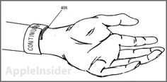 This New Apple Patent Could Be The Design For A Radical iWatch With A WraparoundDisplay