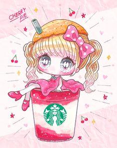 Cute Anime Chibi, Kawaii Anime Girl, Chibi Girl, Oriental, Cute Eyes, Anime Dolls, Kawaii Art, Cool Art, Nice Art