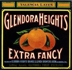Cucamonga Flyer Train #2 Red Orange Citrus Fruit Crate Label Art Print