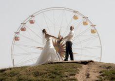 Hochzeitsfotografie im Sonnenlandpark bei Chemnitz