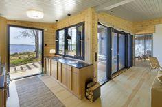 Honka Blockhaus Modell Lokki Küche