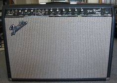 "Vintage 1966 Blackface Fender Pro Reverb Guitar Amp. Used to have an early-70s silverface Pro. Sounded better than any other amp I've played. Broke my heart to sell it. Would LOVE to get another. Want the mid-60s blackface version. Would probably have to settle for another 70s silverface, and maybe have it ""blackfaced"" by Hudson Valley amp genius Chris Davis."