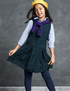 Shop School Uniforms for boys and girls at Lands' End. Find lasting quality kids' school uniform shirts, pants, skirts, shoes and more for back to school. Kids Uniforms, School Uniforms, School Uniform Store, High School Fashion, Lands End, Preppy, Tights, Boys, Girls