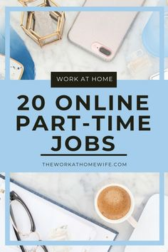 Would you like to make extra money from home but need only part-time hours and a flexible schedule? Don't miss this great list of 20 ideas to consider. #workfromhome #extramoney