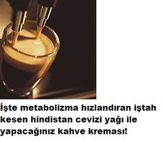 Kahve tiryakisimiziniz? Sizlere metabolizmanızı hızlandıracak iştahınızı kapatacak hindistan cevizi yağı ile yapılan kahve kreması tarifimiz var İştah kapatan metabolizma hızlandıran hindistan ceviziyağlı kahve kreması tarifi İştah kesen hindistan cevizi yağı ile yapılan kahve kreması yarım kahve fincanı bal 3/4 çorba kaşığı hindistan cevizi yağı 1 çay kaşığı tarçın 1 yemek kaşığı kakao tozu Tüm malzemeyi bir kaba koyun ve karıştırın ve cam bir kavanoza koyun bir yandan normal bir şekild...