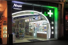 Pharmacy Design, London, ENGLAND, Nashi Pharmacy, design by BPTT,www.facebook.com/epsilonbratanis